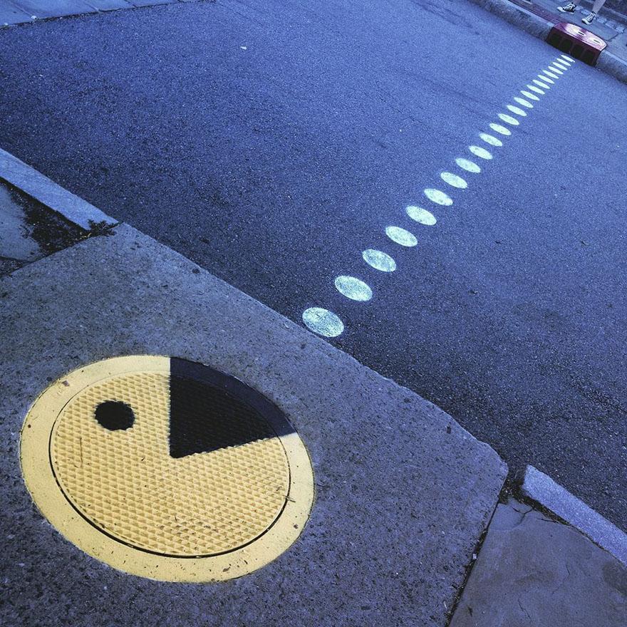 street art tom bob new york 41 5979903074757  880 - 뉴욕의 천재 '거리예술가' 손에 재탄생한 길거리 (사진 25장)