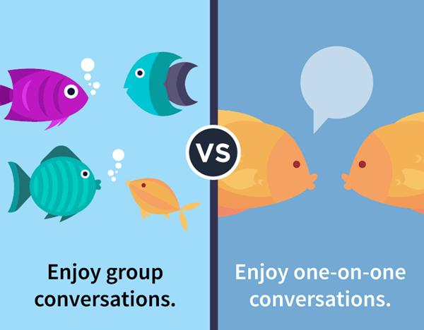 th1708186 3 - 내향적 vs 외향적 사람의 차이점 12가지 (사진)