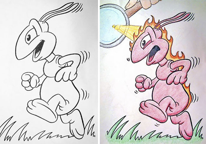 this is what happens when adults color drawings for children 59915c14293e0  700 - 동심파괴 주의! 어린이용 '컬러링북'을 어른이 하면 벌어지는 일 (사진 16장)