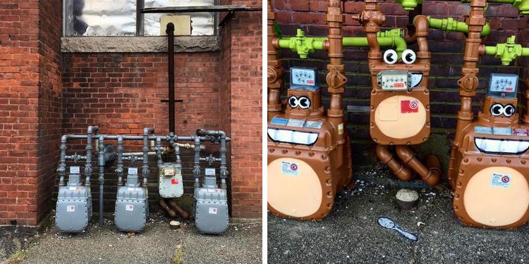 tom bob street art new york 34 - 뉴욕의 천재 '거리예술가' 손에 재탄생한 길거리 (사진 25장)