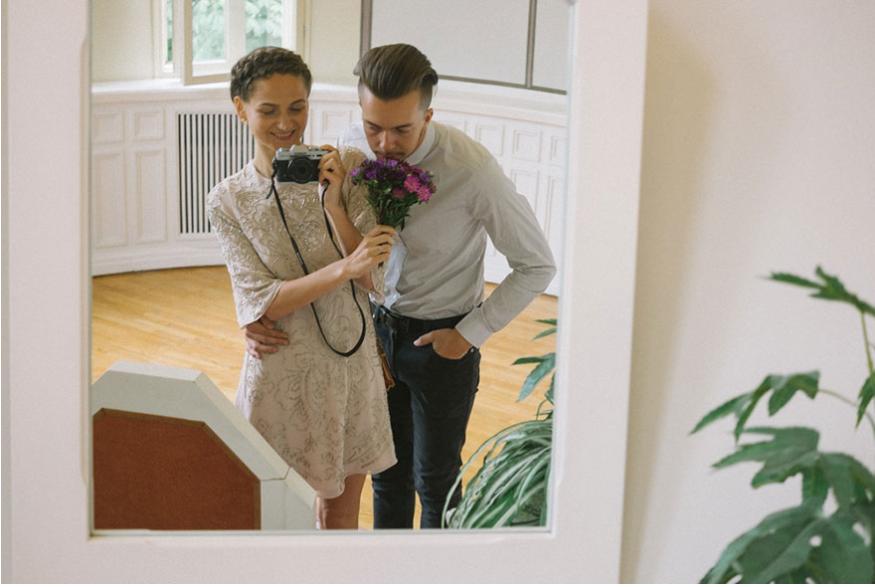 """8 1 - """"웨딩 촬영&결혼식날"""" 모든 사진을 '직접' 찍은 '신부'(+20)"""