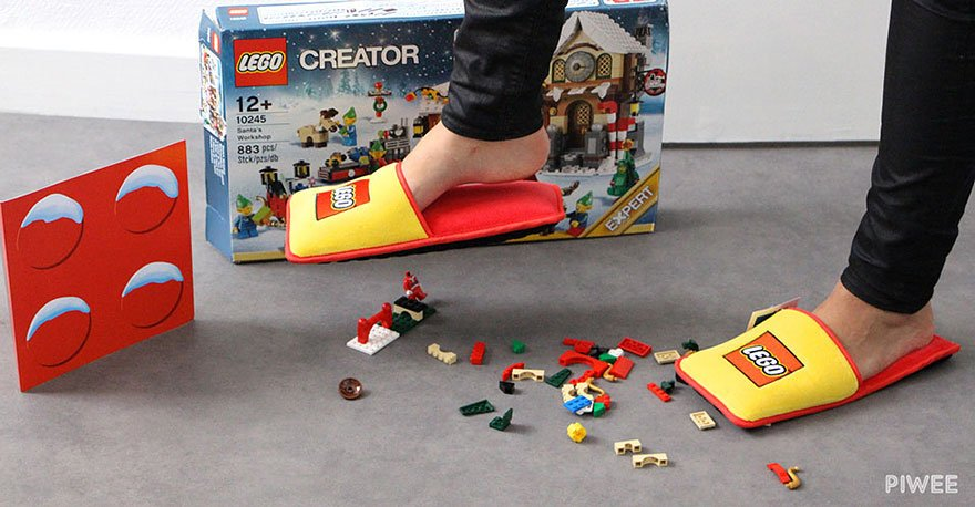 anti lego slippers brand station 4 - Finally, The History Of Horrible Pain of Stepping LEGO Ceases