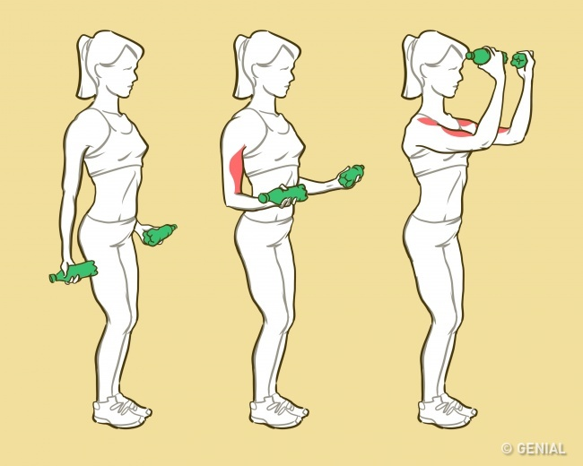 1 191 - 6 ejercicios que te harán lucir unos brazos de modelo