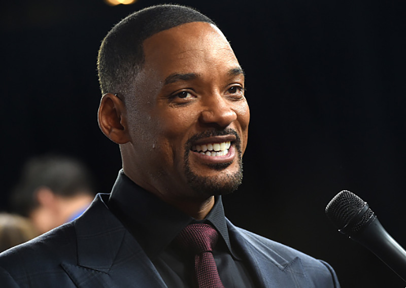 """HOLLYWOOD, CA - NOVEMBER 10: Actor Will Smith attends the Centerpiece Gala Premiere of Columbia Pictures' """"Concussion"""" during AFI FEST 2015 presented by Audi at TCL Chinese Theatre on November 10, 2015 in Hollywood, California. (Photo by Kevin Winter/Getty Images for AFI)"""