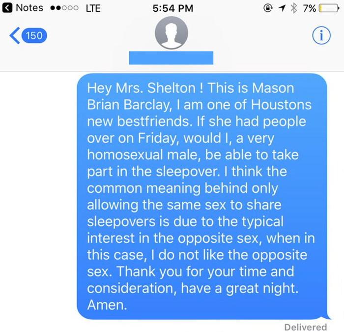 """2 513 - """"집에서 자고 가도 되나요?"""" 동성애자 남성과 '여사친' 어머니의 대화 (사진)"""