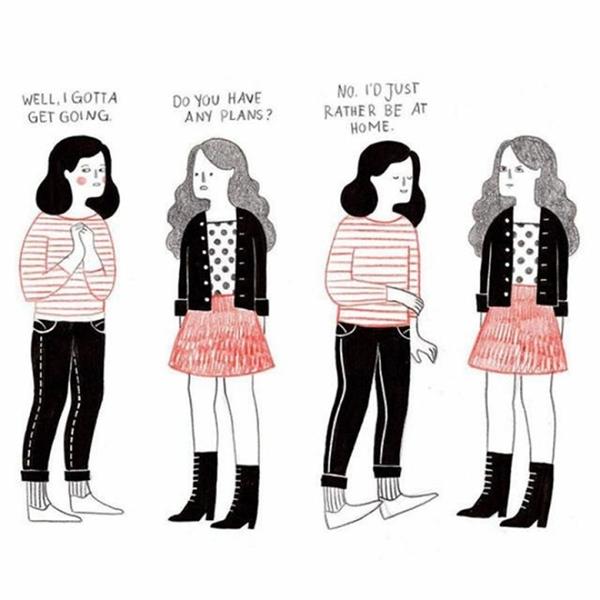 20170710183143 a009 - 20대 여자들의 진짜 모습을 담은 일러스트 10장