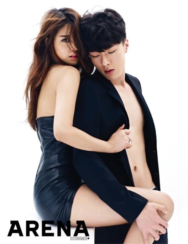 20170915095957 dasdfsdf 1 - 과감하게 노출한 아이돌의 17금 화보 모음