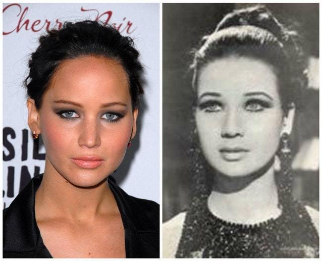 5a1eff5fda70d decouvrez les celebrites qui ont des jumeaux historiques 2  - Inexplicável! Celebridades e seus sósias históricos: confira a surreal semelhança