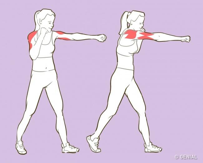 6 84 - 6 ejercicios que te harán lucir unos brazos de modelo