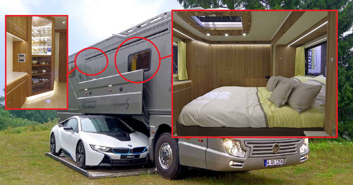 World 39 s most expensive motorhome is finally revealed the for Most expensive motor homes