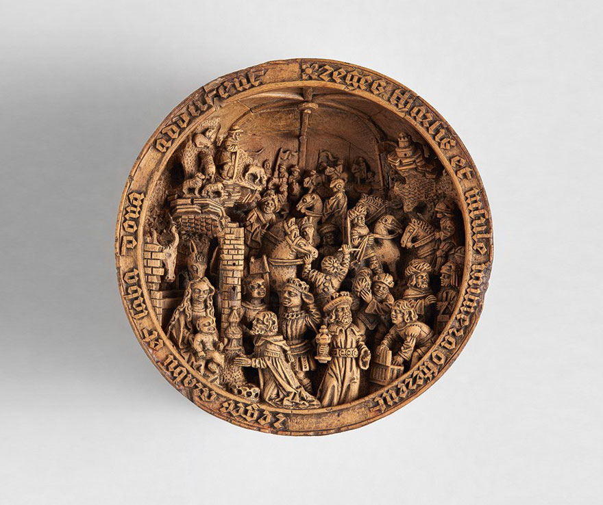 miniature boxwood carvings 16th century 13 - 16th Century Boxwood Carvings Are So Tiny That Researchers Need To Use CT-scanning For Their Research