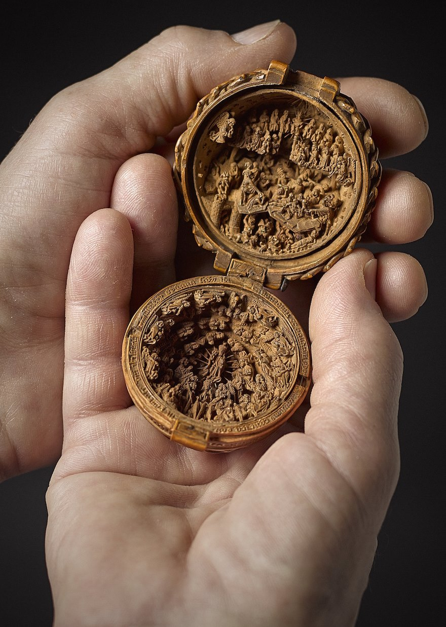 miniature boxwood carvings 16th century 9 - 16th Century Boxwood Carvings Are So Tiny That Researchers Need To Use CT-scanning For Their Research