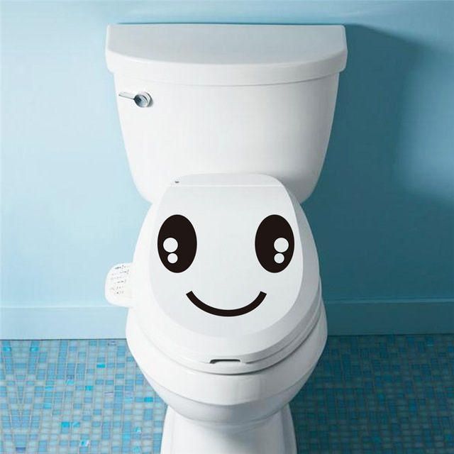 smile eyes toilet stickers 322 home decoration waterproof wall decals mural art posters vinyl diy adesivos jpg 640x640 - Saiba quantas vezes por dia é normal fazer cocô