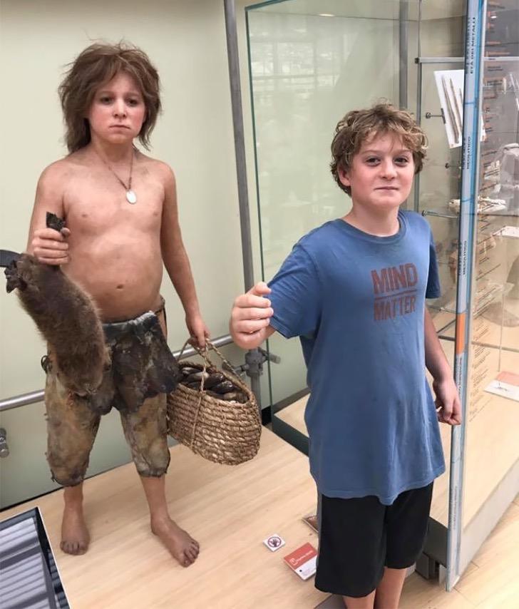 03 1 1 - 15 personas que un día llegaron al museo y se encontraron con su ancestro de siglos atrás