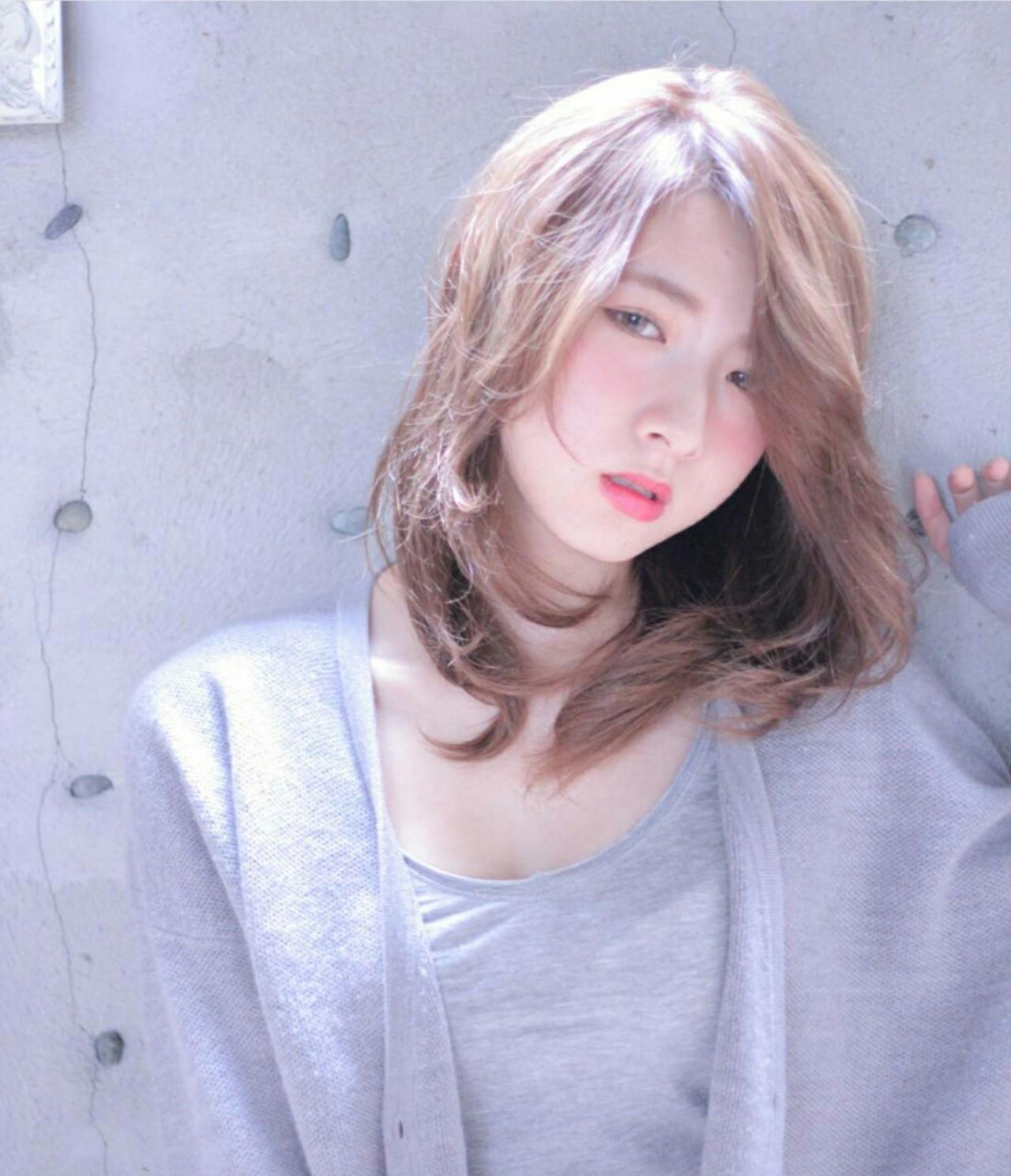 100ab398ef49d2aad5a97284dd0cc195 - 可愛くなれる人気のミルクティーカラーに髪色を変えてみませんか?