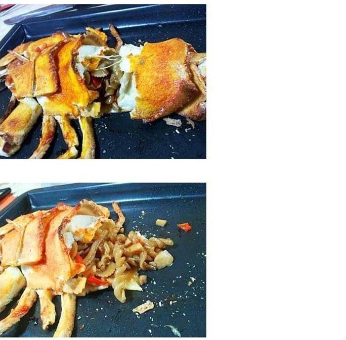 20171208 111810 - 랍스터가 먹고 싶던 미대생, 식빵으로 '랍스타' 만들었다.