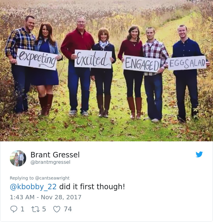 family christmas card gone viral - This Family Christmas Cards Are Indescribable, Emily Is Emily