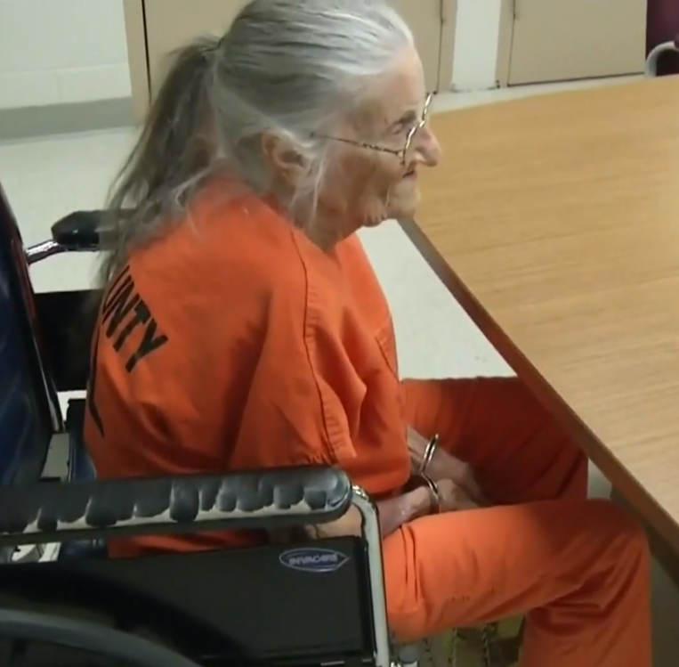 grandmother - 93-Year-Old Woman Arrested Because Care Home Said She Was Not Paying Rent, But Woman Says It Is A Lie