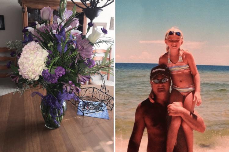 img 5a2638665dfa5 - Mesmo tendo morrido há 4 anos, pai segue presenteando a sua filha com flores