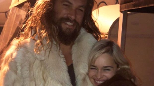 img 5a263e32d5e62 - 'Game Of Thrones' Emilia Clarke Reunited With Jason Momoa