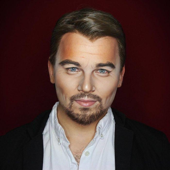 img 5a29d20327afb - 彩妝師超神技術還原度100% 任何明星臉都難不倒他!