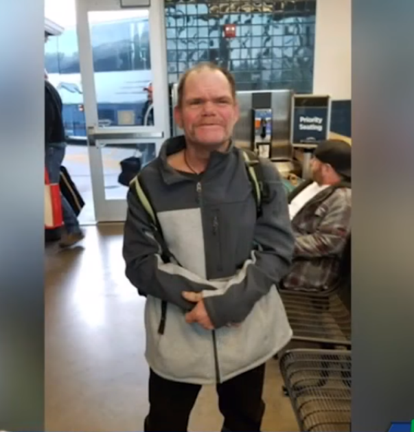 alan - Woman Asks Homeless Man What He Wanted For Christmas, He Covers His Face And Cries