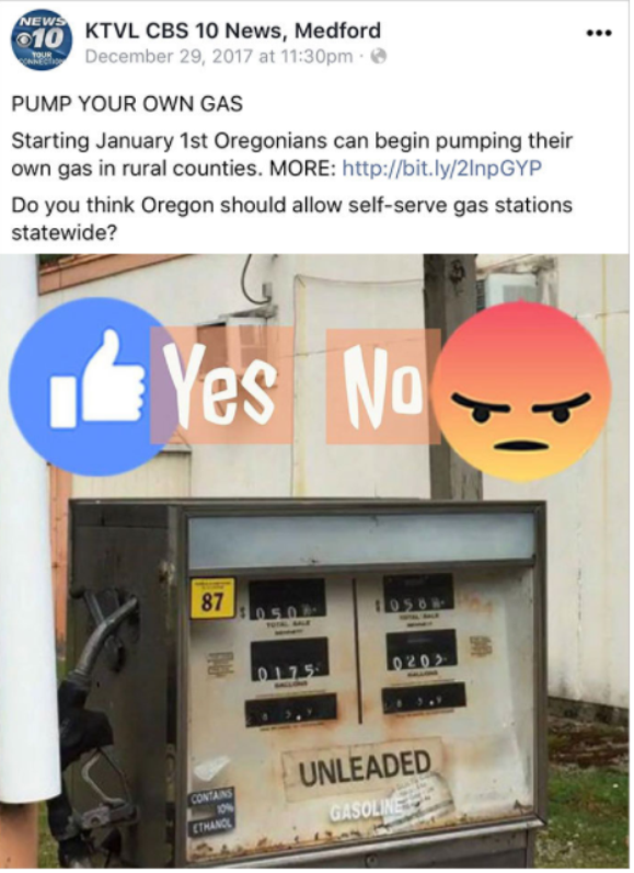 gas1 - Oregonians Will Now Pump Their Own Gas And People's Reactions Are Hilarious