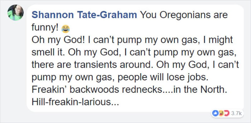 gas12 - Oregonians Will Now Pump Their Own Gas And People's Reactions Are Hilarious