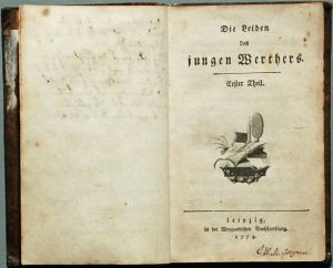 goethe werther 1774 300x242 - xjapanのhideの死亡後、各地で多発した後追い自殺は心理学で証明できる!?
