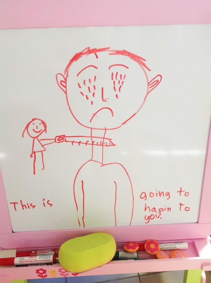 hilarious drawings 5 1 - 9 dessins d'enfants qui prennent un tout autre sens quand on est adulte