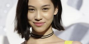 Japanese model Kiko Mizuhara attends the French fashion house Chanel Spring/Summer 2012 women's ready-to-wear collection show by German designer Karl Lagerfeld in Paris October 4, 2011. REUTERS/Gonzalo Fuentes (FRANCE - Tags: FASHION ENTERTAINMENT)