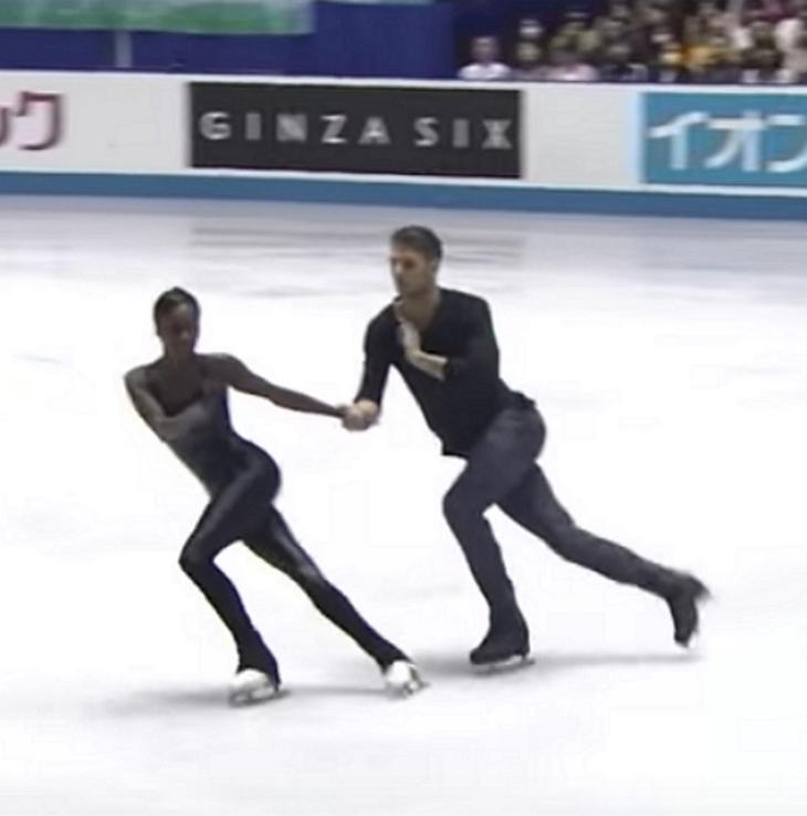iceskating - La performance des français Vanessa James et Morgan Cipres en 2017 nous donne toujours des frissons!