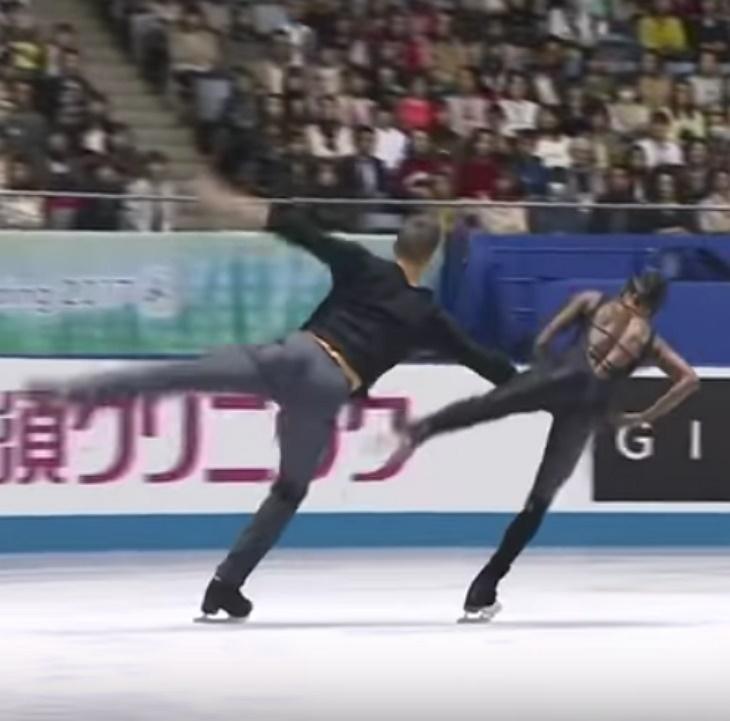 iceskating3 - La performance des français Vanessa James et Morgan Cipres en 2017 nous donne toujours des frissons!