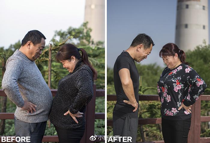 img 5a5692b26c3be - 情侶健身算什麼?一家四口減肥6個月內練出大腹肌 效果超驚人!