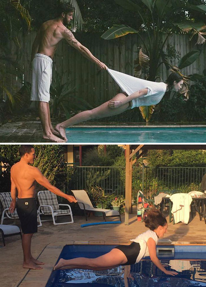 img 5a58c43f6bb4c - Woman Recreates Famous Celebrity Instagram Photos With Hilarious Results