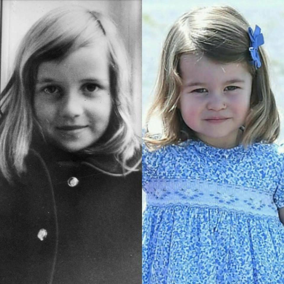 img 5a6cd342859e1 - Les fans de la famille royale remarquent une ressemblance incroyable entre la petite princesse Charlotte et sa grand-mère, Diana