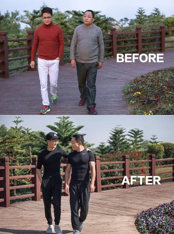 jesse2 - Chinese Family Goes On A Diet For Their New Year's Resolution -The Results Are WOW!