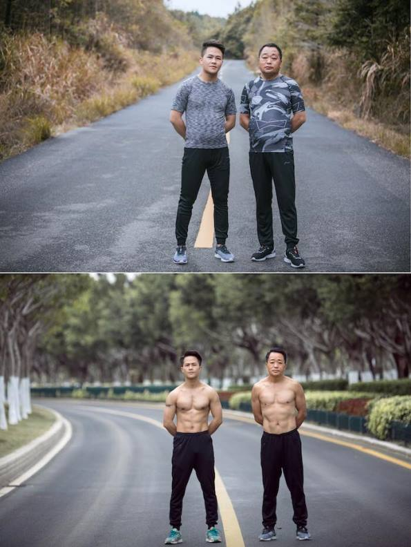 jesse3 - Chinese Family Goes On A Diet For Their New Year's Resolution -The Results Are WOW!