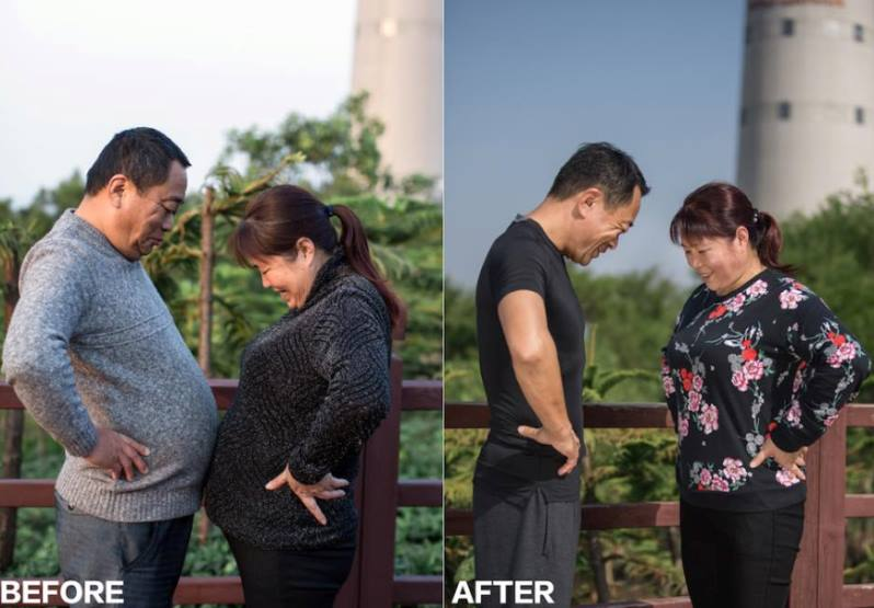 jesse4 - Chinese Family Goes On A Diet For Their New Year's Resolution -The Results Are WOW!
