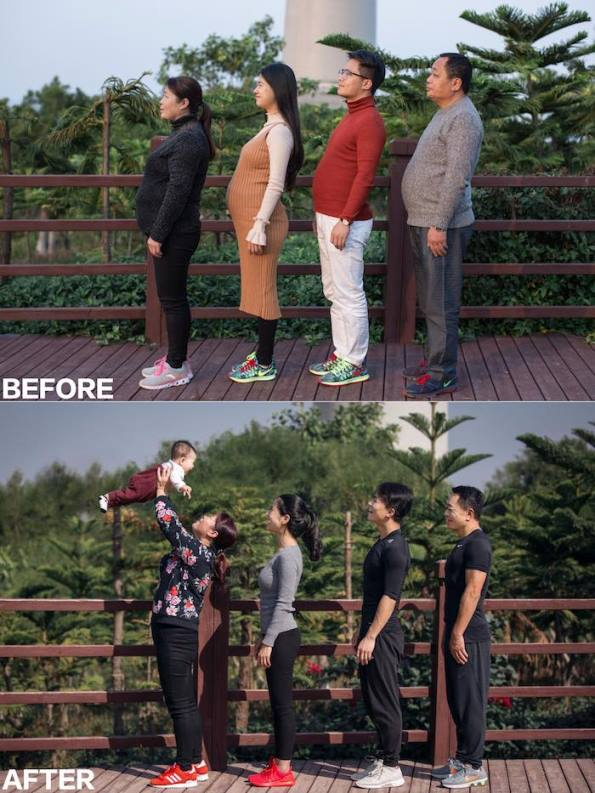 jesse7 - Chinese Family Goes On A Diet For Their New Year's Resolution -The Results Are WOW!