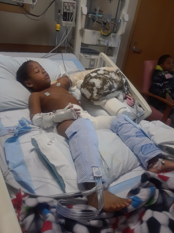 martin - Neighbor's Dog Attacks Little Boy, Crying Mom Fears She'll Lose Her Son