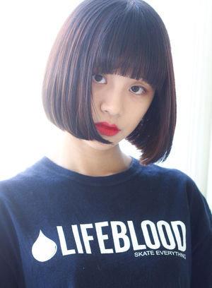 marugao osusume hair style  - 丸顔でも大丈夫!小顔に見えるおすすめヘアスタイル