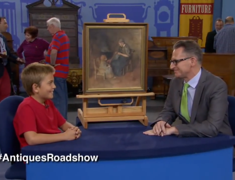 painting - Young Boy Buys Painting For $2, Later He Receives Incredible News About Its Real Worth
