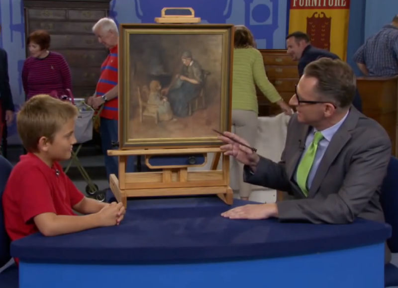 painting4 - Young Boy Buys Painting For $2, Later He Receives Incredible News About Its Real Worth