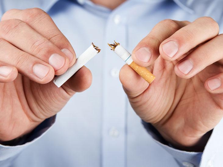 quit smoking nicotine withdrawal thumb - Elimine a nicotina do seu corpo misturando um simples ingrediente a suco de laranja