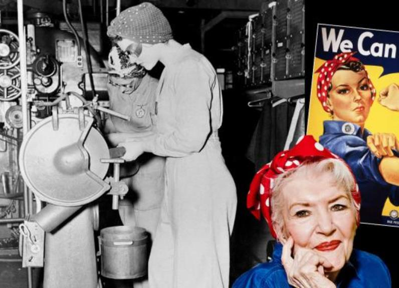 rosie3 - The Real 'Rosie the Riveter' Went Unknown For Seventy Years, Dead At 96