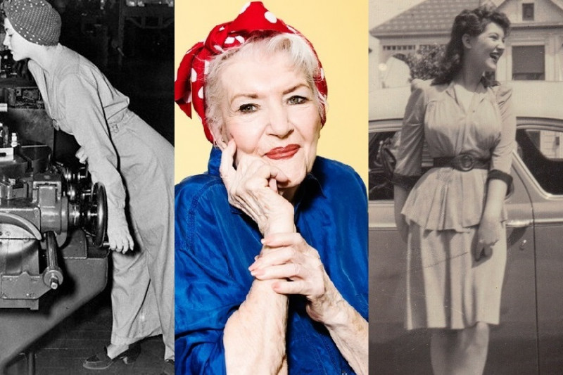 rosie5 - The Real 'Rosie the Riveter' Went Unknown For Seventy Years, Dead At 96