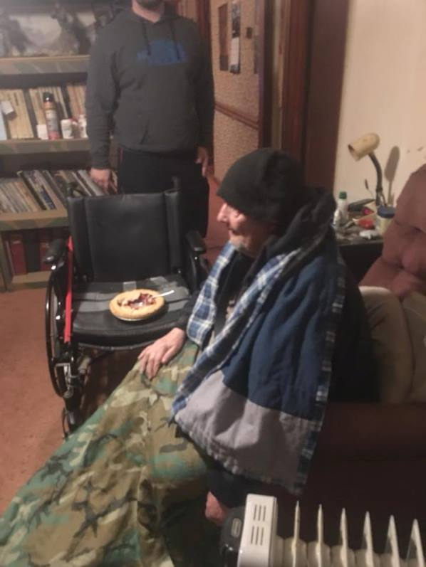 veteran - Disabled Veteran Only Uses Kitchen Stove To Stay Warm In Home