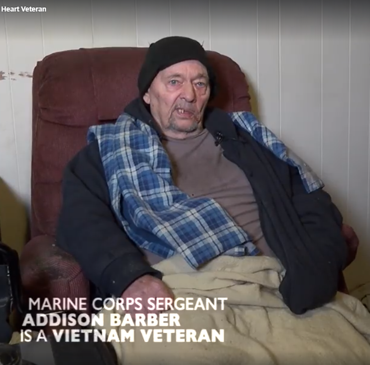 veteran3 - Disabled Veteran Only Uses Kitchen Stove To Stay Warm In Home