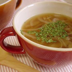 Image result for ハンバーグと玉ねぎスープ